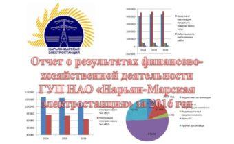Отчет о результатах финансово-хозяйственной деятельности предприятия за 2016 год